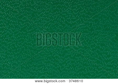 Textured Green Metal Plate