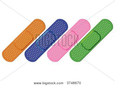 Colorful Bandaids