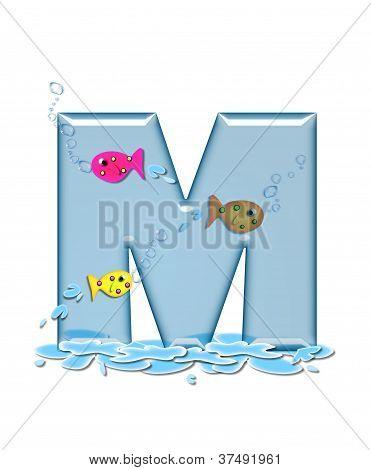 Alphabet Fish Flop M