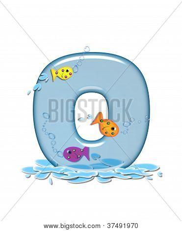 Alphabet Fish Flop O