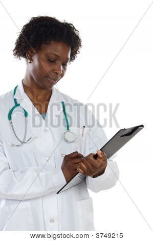 Beautiful Doctor Woman