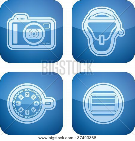 Photography Icons Set
