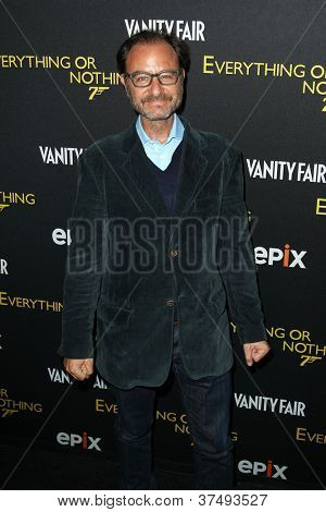 NEW YORK-OCT 3: Fisher Stevens attends the 'Everything Or Nothing: The Untold Story Of 007' premiere at the Museum of Modern Art on October 3, 2012 in New York City