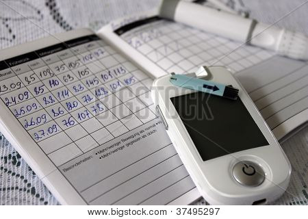 diabetes, blood glucose meter