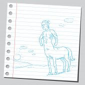stock photo of centaur  - Centaur - JPG
