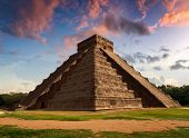 pic of serpent  - Representation of The Feather Serpent during spring equinox in Kukulkan Pyramid Chichen Itza - JPG