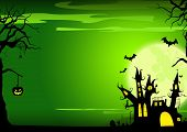 image of cross hill  - Halloween poster - JPG