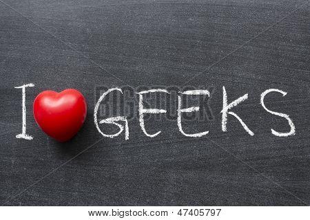 Liebe Geeks