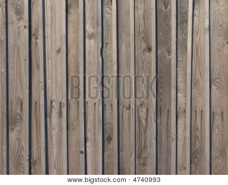 Natural Lath Wooden Fence Texture