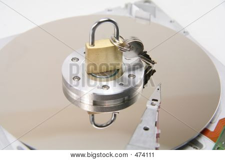 Hard Disks Details And Lock, Concept Of Data Security
