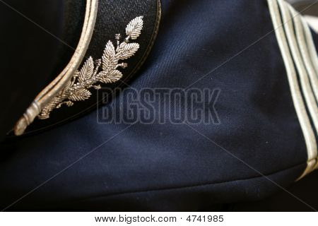 Captians Blazer And Hat