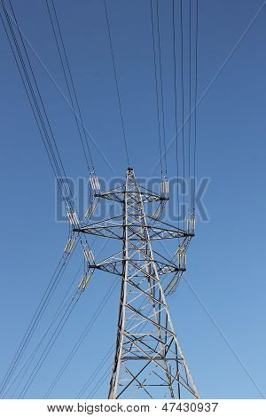 Electricity pylon UK National Grid