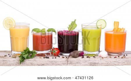 Vegetable juice variety