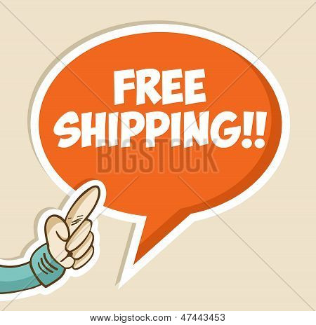 Free Shipping Bubble