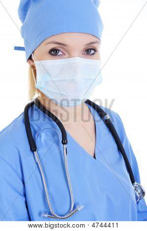 Portrait Of Woman Surgeon