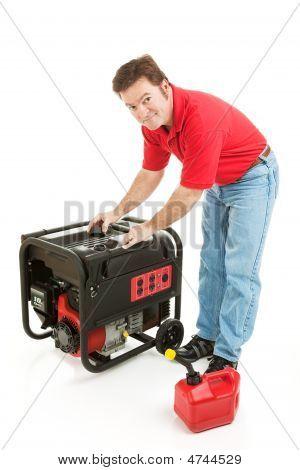 Abastecer o gerador