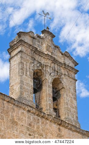 Church of Madonna della Strada. Taurisano. Puglia. Italy.