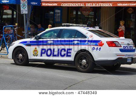 Coche del servicio de policía de Ottawa