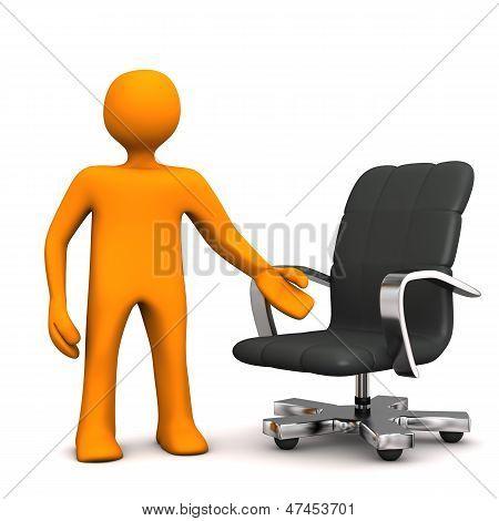 Manikin Armchair