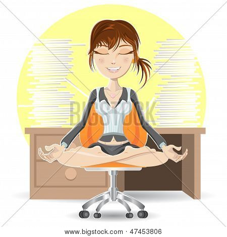 Meditation At The Office