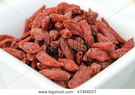 Super-fruits - Dried goji berries