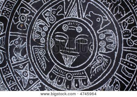 Plate Aztec