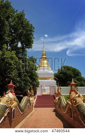 Thai Temple In North Of Thailand