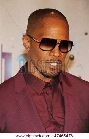 LOS ANGELES - JUN 30: Jamie Foxx at the 2013 BET Awards at Nokia Theater L.A. Live on June 30, 2013 in Los Angeles, California
