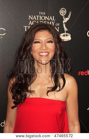 BEVERLY HILLS - JUN 16: Julie Chen at the 40th Annual Daytime Emmy Awards at The Beverly Hilton Hotel on June 16, 2013 in Beverly Hills, California