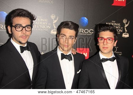 BEVERLY HILLS - JUN 16: Il Volo at the 40th Annual Daytime Emmy Awards at The Beverly Hilton Hotel on June 16, 2013 in Beverly Hills, California