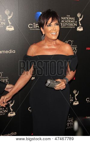 BEVERLY HILLS - JUN 16: Kris Jenner at the 40th Annual Daytime Emmy Awards at The Beverly Hilton Hotel on June 16, 2013 in Beverly Hills, California