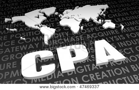CPA Industry Global Standard on 3D Map