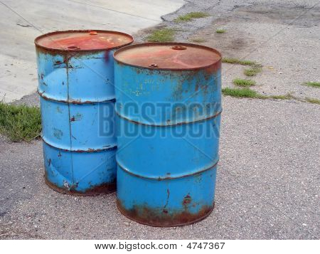 55-gallon Barrels