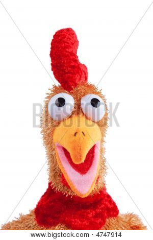 Anface Portray Of An Easter Rooster Toy