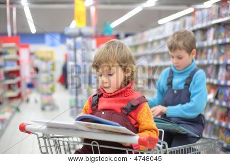 Children In Bookshop
