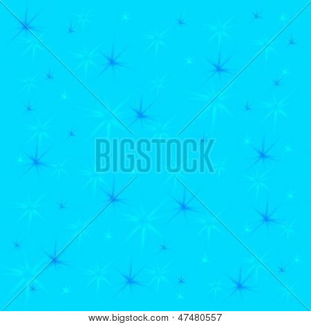 star-burst background
