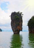 image of james bond island  - James Bond island in thailand - JPG