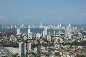 image of bolivar  - Cartagena is a city on the northern coast of Colombia in the Caribbean Coast Region and capital of the Bolivar Department - JPG