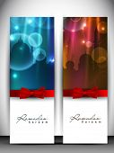 picture of kareem  - Shiny greeting card or banner set with red ribbon for holy month of Muslim community Ramadan Kareem - JPG