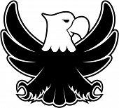 eagle cartoon emblem