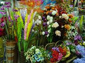 foto of flower shop  - flower shop  - JPG