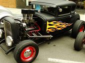 Black Hot Rod