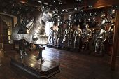 picture of breastplate  - Extensive display of medieval armour at the famous armoury in Graz - JPG