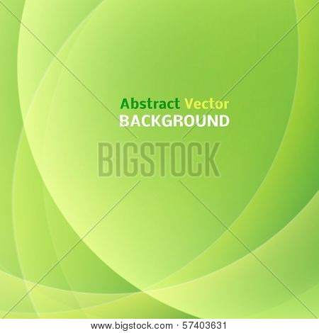 Abstract light green background. Vector illustration.