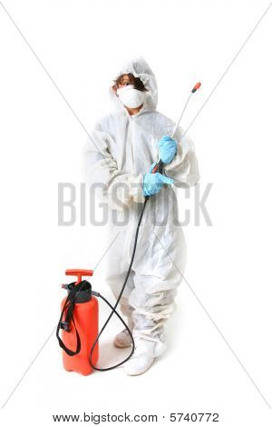 Child In Protective Suit