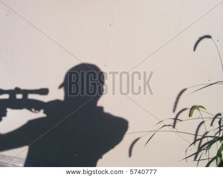 Hunting Shadow Silhouette
