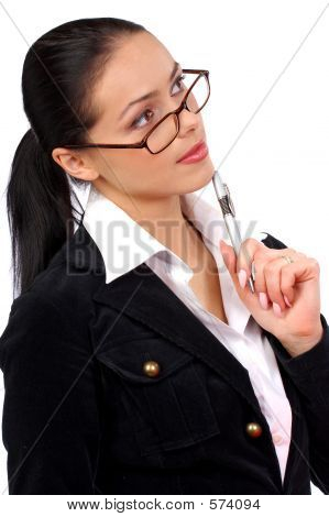 Businesswoman. Woman In Business.