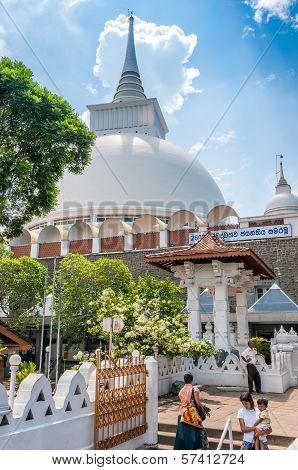 The Stupa Of Kalutara