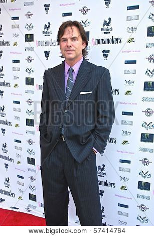 Greg Thompson at a screening of