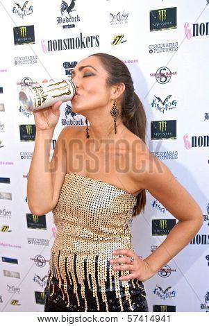 Ariana Almajan  at a screening of